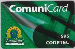 PHONE CARD-DOMINICANA (E47.47.6 - Dominicaanse Republiek