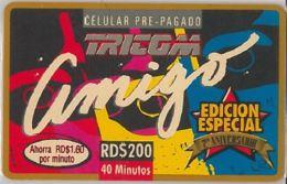 PHONE CARD-DOMINICANA (E47.48.6 - Dominicaanse Republiek