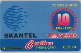 PHONE CARD-ST KITTS & NAVIS (E47.27.3 - St. Kitts En Nevis