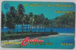 PHONE CARD-ST VINCENT THE GRENADINES (E47.25.4 - San Vicente Y Las Granadinas