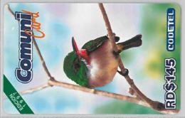 PREPAID PHONE CARD-DOMINICANA (E47.39.7 - Dominicaanse Republiek