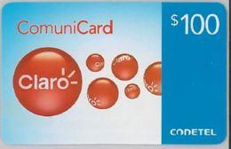 PREPAID PHONE CARD-DOMINICANA (E47.40.4 - Dominicaanse Republiek