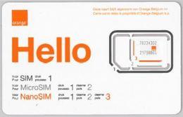 SIM CARD NON ACTIVEBELGIO (E47.24.7 - Carte GSM, Ricarica & Prepagata