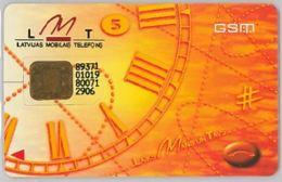 SIM CARD NON ACTIVELETTONIA (E47.24.3 - Letland