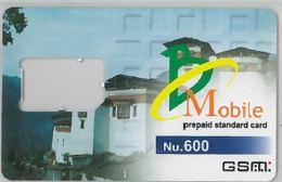 SIM CARD NOT ACTIVE-BUTAN (E47.50.1 - Bhoutan