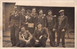 ¤¤    -  LA TURBALLE  -  Carte-Photo De La Classe 1929  -  Les Conscrits   -   ¤¤ - La Turballe