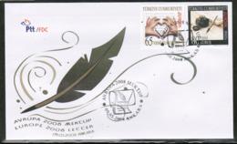CEPT 2008 TR MI 3663-64 TURKEY FDC - 2008