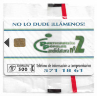 Spain - Telefónica - Participacion Popular - P-258 - 04.1997, 4.000ex, NSB - Spanien