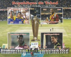 Tchad BF 2012 MNH Cricket - Tsjaad (1960-...)