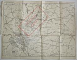 CARTE MILITAIRE, SITUATION DES ARMÉES, SEPTEMBRE 1914, MILITARIA WWI Guerre - 1914-18
