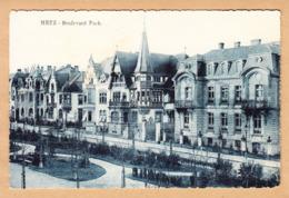 CPA Metz, Boulevard Foch, Ungel. - Metz