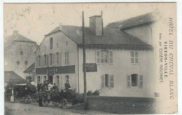Virton Ville - Hôtel Du Cheval Blanc - Eugene Ribonnet - Attelage - Virton