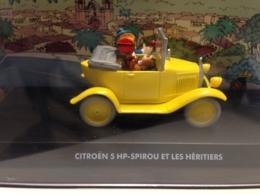 CITROEN 5HP SPIROU ET LES HERITIERS 1/43 - TB ETAT EN BOITE - Non Classés