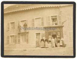 PHOTO  MONTBOZON  BOULANGERIE EPICERIE MERCERIE MOUCHET   PLACE Et GRANDE RUE - France