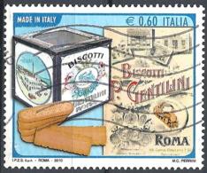 Italia, 2010 Biscotti Gentilini, 0.60€ Policromo # Sassone 3210 - Michel 3420 - Scott 3037  USATO - 6. 1946-.. Repubblica