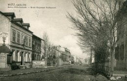 Metz-Sablon  Route De L'empereur Guillaume  (nr 44 E Meistertzheim Serie 2 ) - Metz