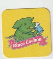 Sous-bocks - Bock :  Rince   Cochon , Bière  Blonde  Des   Flandres - Sous-bocks