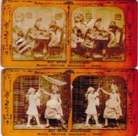 CARTE STEREOSCOPIQUE / AU BON MARCHE - Cartes Stéréoscopiques