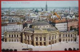 WIEN - PANORAMA MIT K.K. HOFBURGTHEATER - Vienna Center