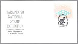 KIWI - Nationa Stamp Exhibition Tarapex'98. New Plymouth, New Zealand, 1998 - Kiwi
