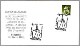 Pintura De SALVADOR DALI - Paint Of DALI. ELEFANTE - ELEPHANT. Figueres 2000 - Arte