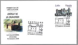 CASTILLO DE LA CALAHORRA (Granada) - Castle Of La Calahorra. SPD/FDC 2008. Andalucia - Castillos