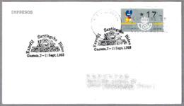 CAMINO DE SANTIAGO - Agnus Dei De Iglesia De S.Prudencio De Armentia (Alava). Vitoria-Gasteiz 1993 - Cristianismo
