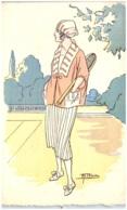 M.T. BLACHE - Femme - Mode - Tennis - Künstlerkarten