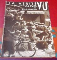 VU N°284 Août 1933 Grèves De Strasbourg,Sport En Allemagne Nazie,Vierge D'Eskioga,Mussolini,Nouveau Glozel Gargilesse - Books, Magazines, Comics