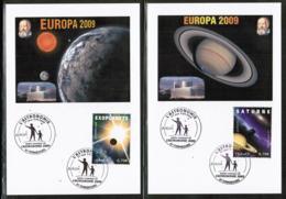 CEPT 2009 FR MI 4660-61 FRANCE POSTCARD - Europa-CEPT