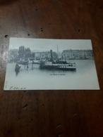 Cartolina Postale 1900, Genève, Les Quais - GE Genève