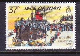 ISLA MAN, USED STAMP, OBLITRERÉ, SELLO USADO, - Man (Insel)