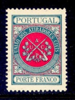 ! ! Portugal - 1899 Riffles Association - Af. UACP 01 - MH - Franchise