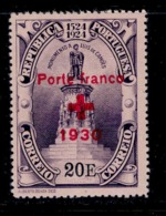 ! ! Portugal - 1930 Camoes Red Cross 20 E - Af. PF28 - MH - Neufs