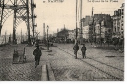 COLLECTION CARTE D'AUTREFOIS - NANTES - LE QUAI DE LA FOSSE - Nantes