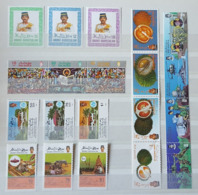 (008,28-30,63-64) Brunei  Kleines Los / Small / Petit Lot / Collection / Ex 1985-1988 ** / Mnh  Michel 332//378 - Brunei (1984-...)