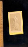 Photographie CDV : Jeune Fille Young Girl 1880 / Atelier Photographe FAUCHER à TULLE Corrèze - Anonyme Personen