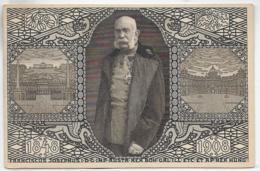 AK 0324  Jubiläums-Korrespondenz-Karte Kaiser Franz Joseph 1848-1908 - Politische Und Militärische Männer
