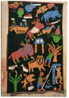 Benin (Abomey) - Tapisserie Murale (art Contemporain) - Benin