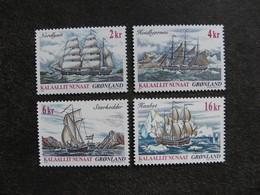 Groenland:  TB Série N° 360 Au N° 363. Neufs XX. GM. - Neufs