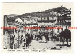 AVIGLIANO - PIAZZA EMANUELE GIANTURCO F/GRANDE VIAGGIATA 1955 ANIMAZIONE - Potenza
