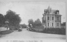 Le BREUIL-LA ROUTE DE LISIEUX.1928. - France