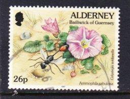ALDERNEY, USED STAMP, OBLITRERÉ, SELLO USADO, - Alderney