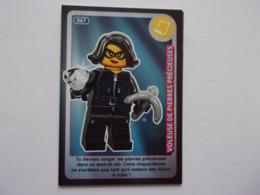 Carte LEGO AUCHAN CREE TON MONDE N°67 Voleuse De Pierres Précieuses - Autres Collections