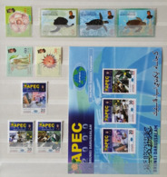 (021,22,76,77) Brunei  Kleines Los / Small / Petit Lot / Collection / Ex 2000  ** / Mnh  Michel 589//597 - Brunei (1984-...)