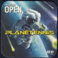 France SB Sous Bock Beermat Beer Coaster Tennis Moselle Open Planètennis ATP 250 - Sotto-boccale