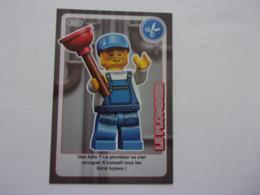Carte LEGO AUCHAN CREE TON MONDE N°25 Plombier Plumber Fontanero Klempner - Autres Collections