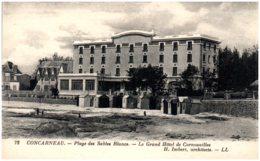 29 CONCARNEAU - Plage Des Sables Blancs - Le Grand Hotel De Cornouailles - Concarneau