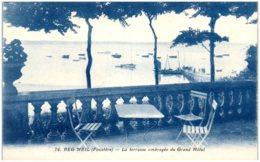 29 BEG-MEIL - La Terrasse Ombragée Du Grand Hôtel - Beg Meil