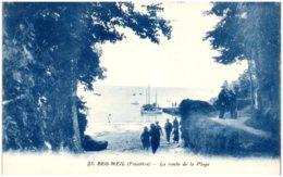 29 BEG-MEIL - La Route De La Plage - Beg Meil